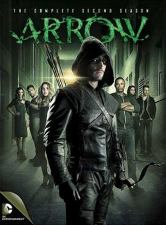 Arrow (season 2) - Region 1 DVD cover