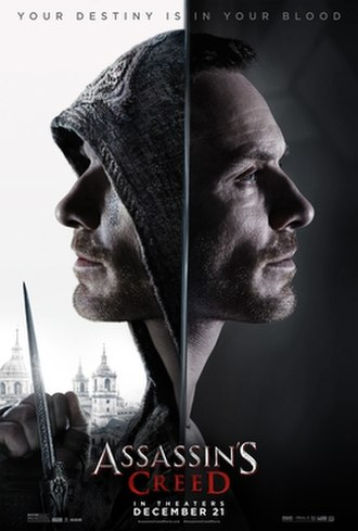 Assassin's Creed (film) - Theatrical release poster