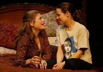 Aunt Dan and Lemon - Kristen Johnston and Lili Taylor in the 2004 off-Broadway revival