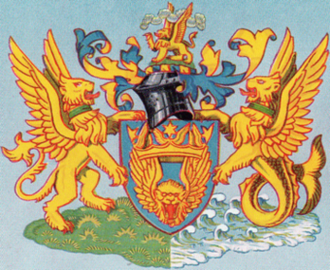 British Overseas Airways Corporation - BOAC coat of arms