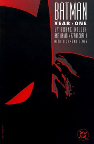 Batman: Year One - Cover of the first hardcover printing of Batman: Year One