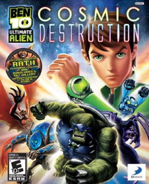 Ben 10 Ultimate Alien: Cosmic Destruction - Image: Ben 10 Ultimate Alien Cosmic Destruction