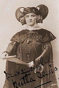 Bertha Lewis British opera singer and actress