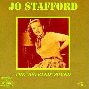 Big Band Sound (album) - Image: Big Band Sound Jo Stafford