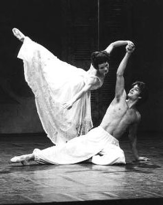 Chéri (novel) - Patrick Bissell and Galina Samsova dancing the lead roles at the premiere of Cheri at the 1980 Edinburgh Festival.