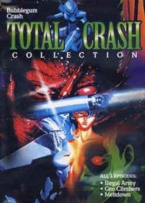 Bubblegum Crisis - DVD cover from Bubblegum Crash Total Crash Collection