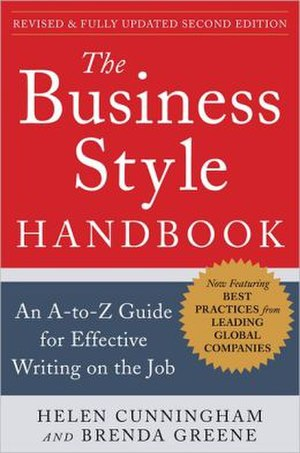 The Business Style Handbook - The Business Style Handbook, 2012 edition