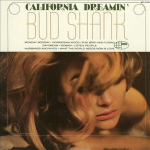California Dreamin' (Bud Shank album) - Image: California Dreamin' (album)