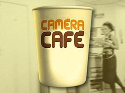 Logo of Caméra Café, French version.