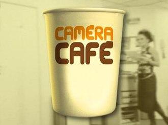 Caméra Café - Logo of Caméra Café, French version.