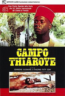 <i>Camp de Thiaroye</i> 1987 film by Ousmane Sembène