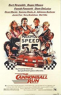 <i>The Cannonball Run</i> 1981 film by Hal Needham