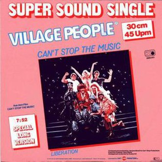 Village People — Can't Stop the Music (studio acapella)