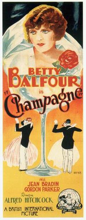 Champagne (1928 film) - Original film poster