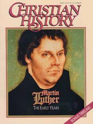 Christian History - Image: Christian History magazine cover