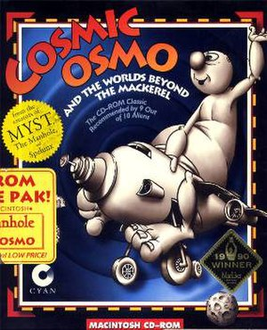 Cosmic Osmo and the Worlds Beyond the Mackerel - Image: Cosmic Osmo and the Worlds Beyond the Mackerel Cover