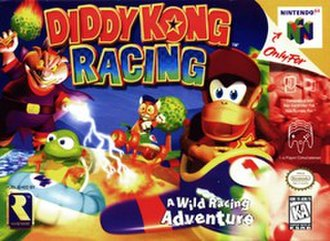 Diddy Kong Racing - North American cover art