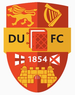 Dublin University Football Club - Image: DUFC Crest