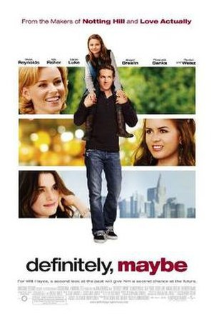 Definitely, Maybe - Image: Definitely Maybe poster