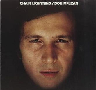 Chain Lightning (album) - Image: Don Mc Lean Chain Lightning