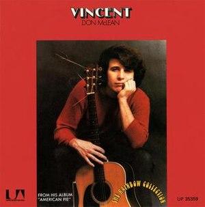 Vincent (song) - Image: Don Mc Lean Vincent Single Cover