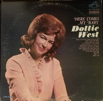 Here Comes My Baby (album) - Image: Dottie West Here Comes the Album