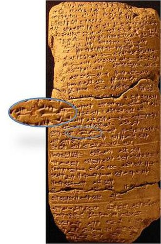 History of Jerusalem - Ú-ru-sa-lim inscription in the Amarna letters, 14th century BCE