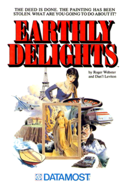 The cover from Earthly Delights.