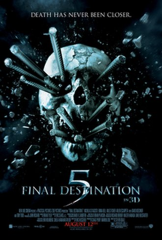 Final Destination 5 - Theatrical release poster