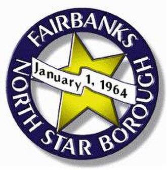 Fairbanks North Star Borough, Alaska - Image: Fairbanks North Star Borough, Alaska (town crest)