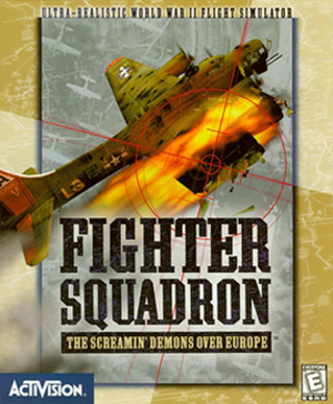 Fighter Squadron: The Screamin' Demons Over Europe - Image: Fighter Squadron The Screamin' Demons Over Europe coverart