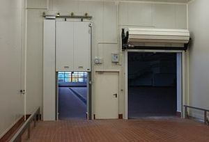 EN 16034 - Fire rated vertically sliding gate, fire rated swing door and fire rated roller shutter.