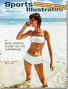1964's first swimsuit issue cover.