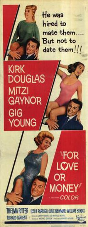 For Love or Money (1963 film) - Image: For Love or Money Film Poster