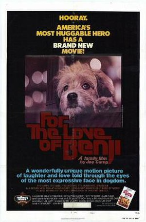 For the Love of Benji - Image: For the Love of Benji movie poster
