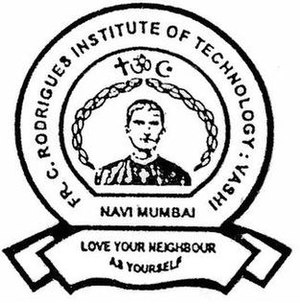 Fr. Conceicao Rodrigues Institute of Technology - Seal of FCRIT