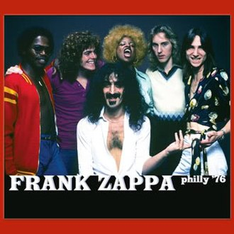 Philly '76 - Image: Frank Zappa Philly 76