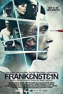 <i>Frankenstein</i> (2015 film) 2015 film by Bernard Rose