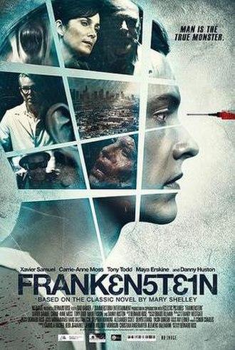 Frankenstein (2015 film) - Theatrical poster