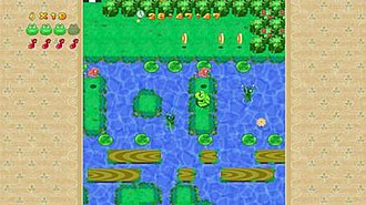 Frogger 2 (Xbox Live Arcade) - Frogger 2 gameplay screenshot.