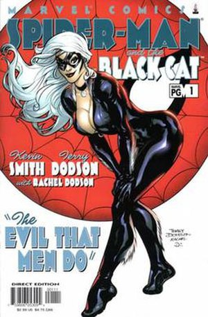 Spider-Man/Black Cat: The Evil that Men Do - Image: Front cover art for The Evil that Men Do