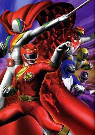 Hyakujuu Sentai Gaoranger vs. Super Sentai - The theatrical poster for Gaoranger vs. Super Sentai