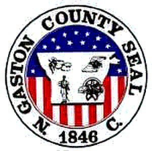 Gaston County, North Carolina - Image: Gaston County nc seal