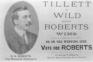 Norwich by-election, 1904 - election card