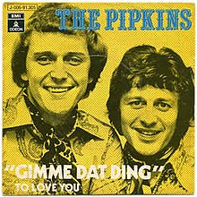 the pipkins gimme dat ding lyrics