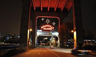 Granville Island - Image: Granville Island Entrance