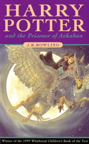 Harry Potter and the Prisoner of Azkaban - Cover art of the first UK edition