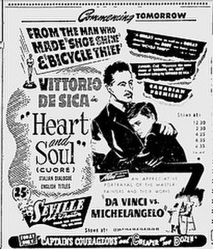 Heart and Soul (1948 film) - Film poster