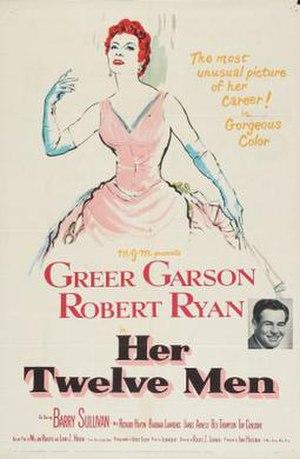 Her Twelve Men - Theatrical release poster