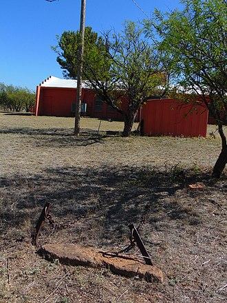 Jail tree - The jail in Arivaca, Arizona.